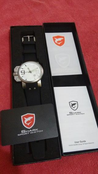 Relógio Shark Salmon Series Stainless Original Pronta Entreg