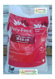1kg Fertilizante Soluble Poly Feed 19-19-19 Hidroponia
