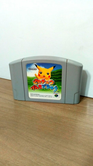 Hey You Pikachu Japonês Nintendo 64 Original