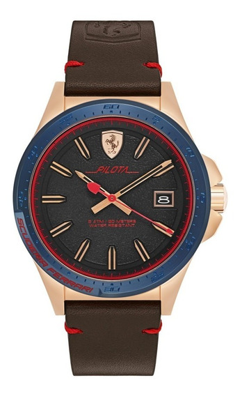 Relógio Masculino Ferrari 830461 Importado Original