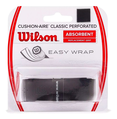 Cushion Grip Wilson Aire Classic Perforated - Raquetes Tênis