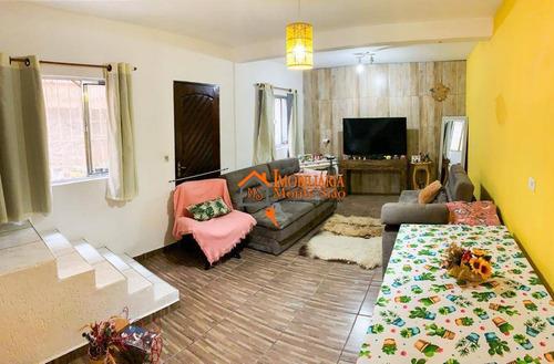 Imagem 1 de 17 de Sobrado Com 2 Dormitórios À Venda, 100 M² Por R$ 260.000,00 - Jardim Paraíso - Guarulhos/sp - So0534