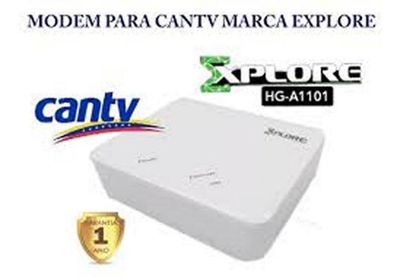 Módem Explore Adsl2 Hg-a1101 Internet Aba Cantv Equiprogram