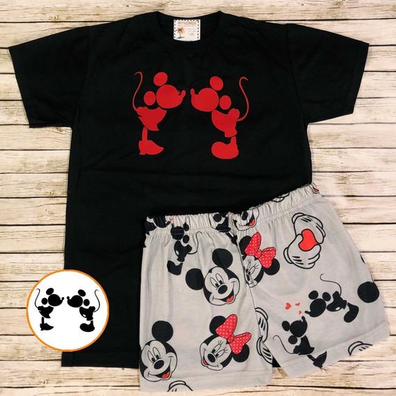 Pijama De Verano Mickey - Store Mykonos