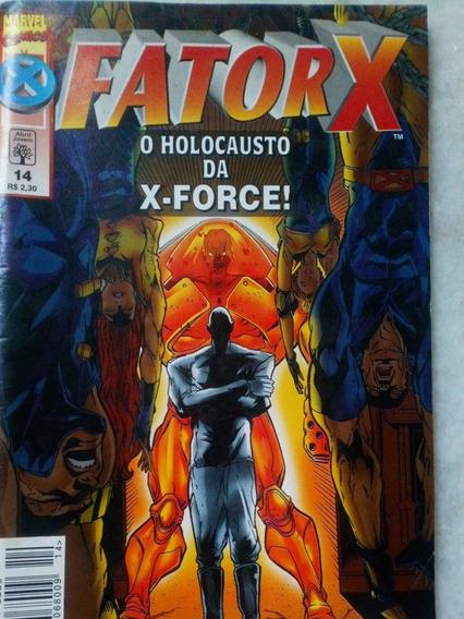 Hq Fator-x 14 - Holocausto Da X-force - Envio Econômico