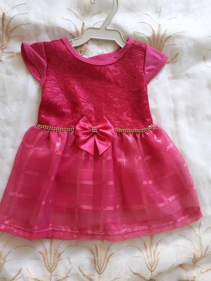 Vestido Luxo Pra Bb