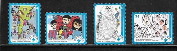 Argentina 2013 Derecho A La Identidad Gj 3990/3 Serie Completa Mint