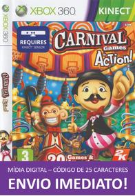 Xbox 360 Game Carnival Games Mídia Digital 25 Dígitos