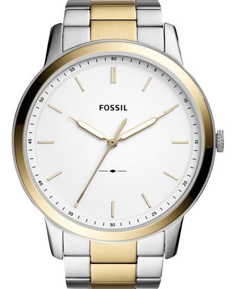 Relógio Masculino Fossil The Minimalist Original Fs5441/1kn