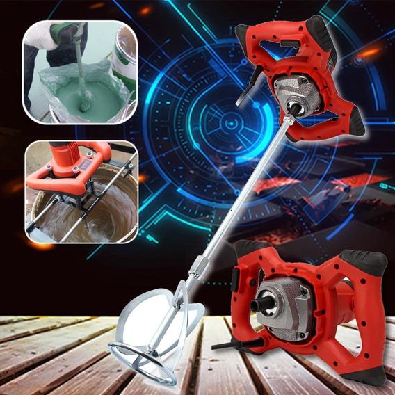 Mezclador De Mortero Eléctrico De 6 Velocidades Doble Alta Y