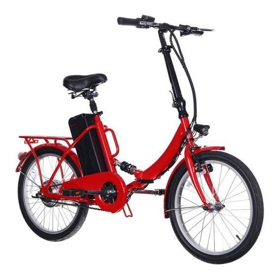 Bicicleta Eléctrica Fairy Roja