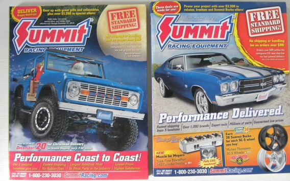Revista Catalogo Summit Racing (2 Sem Uso) Dez2013-jun2015