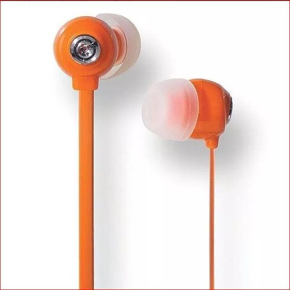 Fone De Ouvido Kit C/ 3 Und Amarelo/ Laranja Rosa - P2