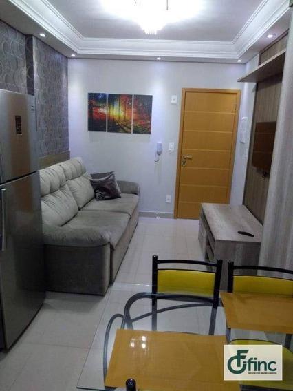 Apartamento Com 1 Dormitório Para Alugar, 52 M² Por R$ 2.400,00/mês - Parque Campolim - Sorocaba/sp - Ap0864