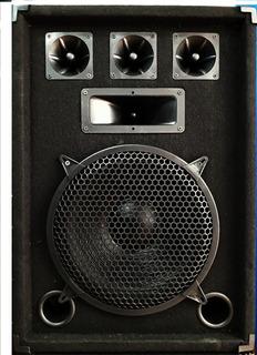 Bafle 12 PuLG 300w 3 Vias Alfombrados Oferta Music Box Hurli