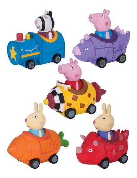 Peppa Pig Autos Vehiculos Coleccionables Varios Personajes