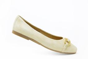 Flexi Juvenil Zapatos Casuales 47308 Oro Originales