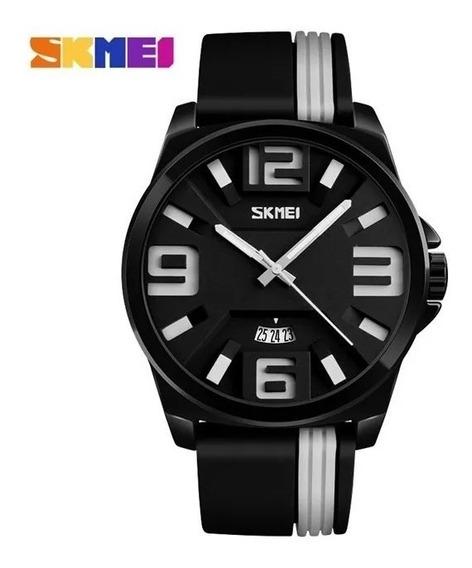 Relógio Original Masculino Luxo Militar Analógico Promoção