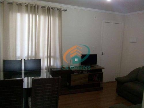 Imagem 1 de 18 de Apartamento Com 2 Dormitórios À Venda, 45 M² Por R$ 215.000,00 - Água Chata - Guarulhos/sp - Ap2101