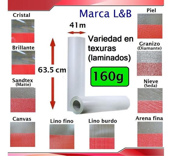 Rollo De Texturas L&b Para Laminar Fotografías, 160g.