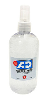 Ad Alcohol En Gel Antibacterial Neutro Higienizante X 250ml