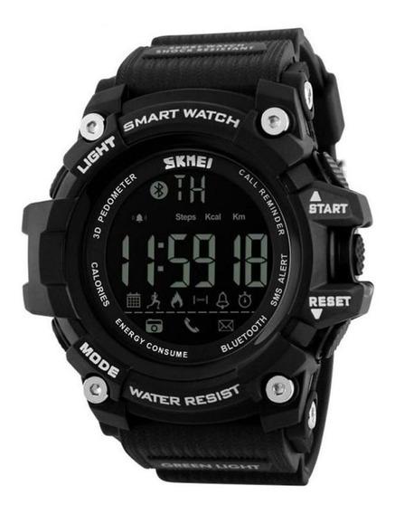Relógio Smart Masculino Skmei Digital 1227 - Preto