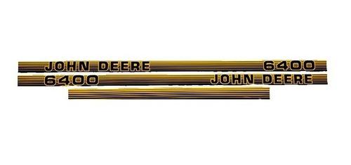 Imagen 1 de 2 de Kit De Adhesivos Tractor John Deere 6400 - Compatible