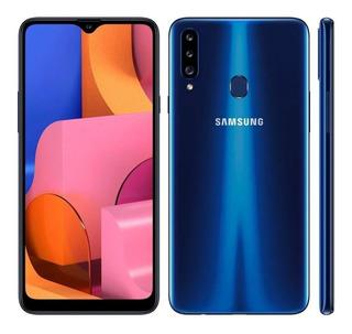 Samsung A20s 3 Gb Ram 32 Gb Memória Interna Dual Sim Azul