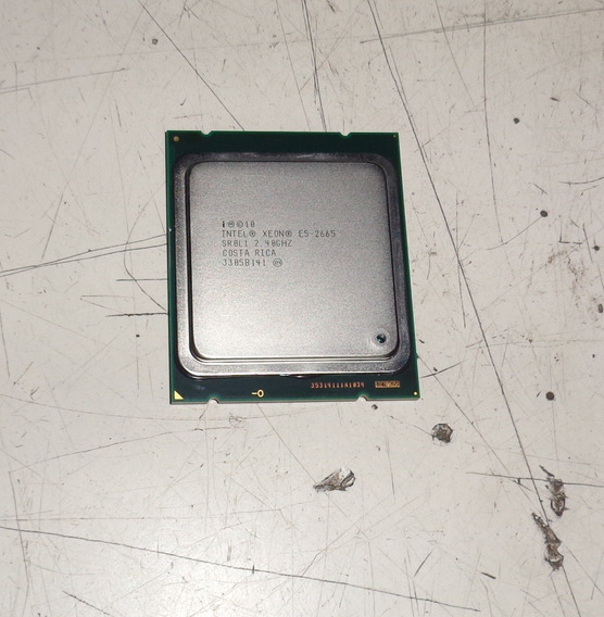 Processador Intel Xeon E5-2665 Sr0l1 2.40ghz 3305b141