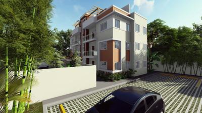 Apartamentos En El Tercer Nivel Con Terraza En Bávaro