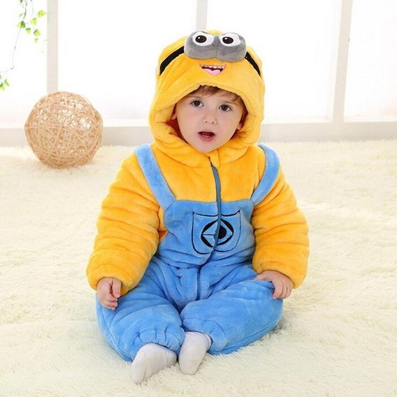 Macacão Para Bebê Minions 18 Á 24 Meses Roupa