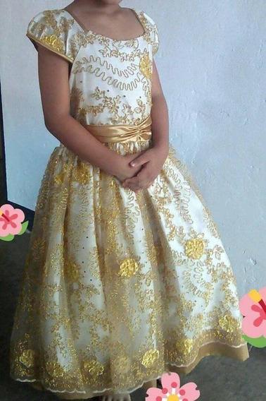 Vestido Dorado Casual
