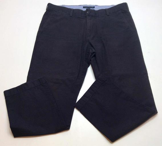 Pantalon De Vestir Tommy Hilfiger Azul Oscuro Usa Talle 38