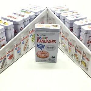 Bandaids Bioswiss Bandages Donut Latinha 50 - Original