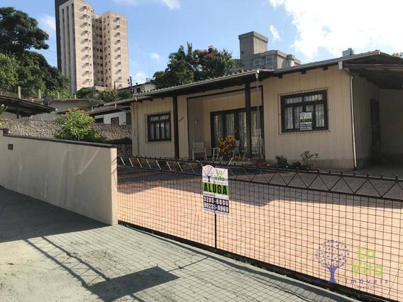Casa Com 3 Dormitórios Para Alugar, 125 M² Por R$ 1.800,00/mês - Asilo - Blumenau/sc - Ca0416