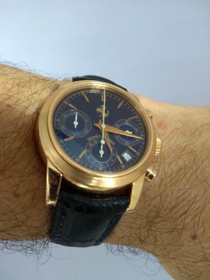 Relógio Girard Perregaux Ferrari Crono Ouro Maciço.