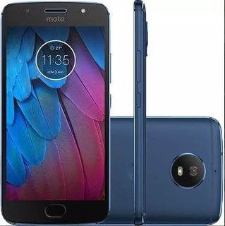 Celular Motorola Moto G5 Plus Azul Em Perfeito Estado.