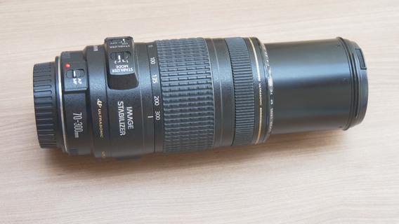 Lente Profissional Canon Ef 70-300mm F/4-5.6 Só Foco Manual