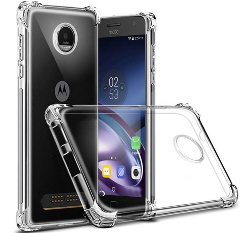 Capa Motorola Moto E5 Plus Anti-impacto Transparente