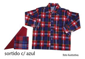 Camisa Xadrez Flanelada 1/3 1920