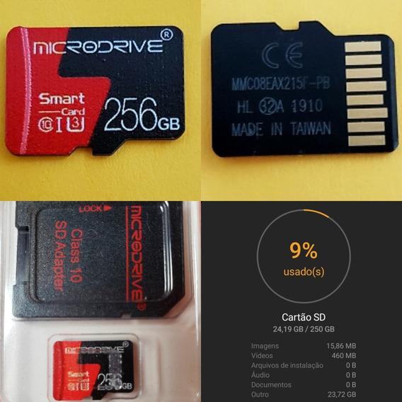 Micro Sd 256gb Microdrive Classe 10