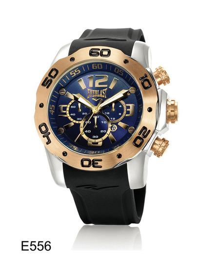 Relógio De Pulso Everlast Cronografo Pulseira Silicone E556