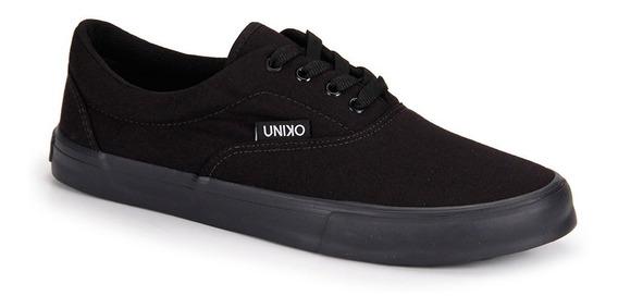 Tênis Casual Uniko Summer Black