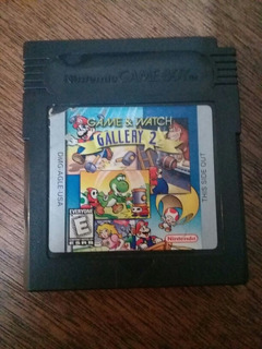 Videojuego Mario Game & Watch Gallery 2
