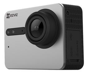 Câmera De Ação Ezviz S5 4k 16mp Wi-fi E À Prova D