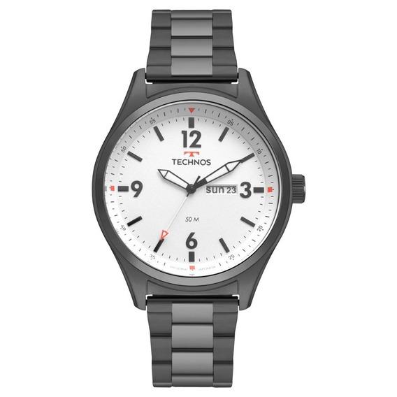 Relógio Technos Performance Military Gafite 2105ax/4b