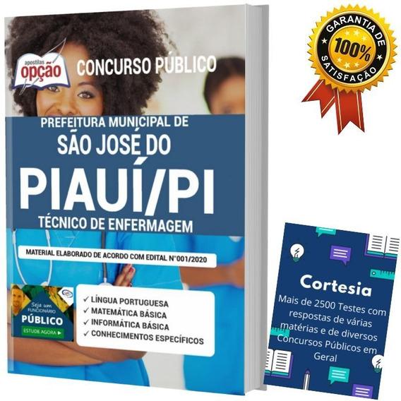 Apostila Concurso São José Do Piauí - Técnico De Enfermagem