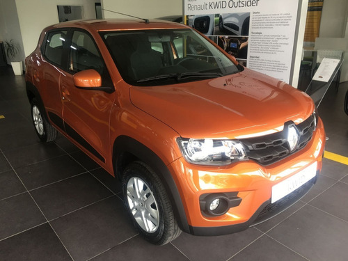 Renault Kwid Inconic Naranja 0km