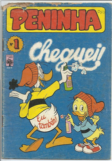 Gibi Hq Peninha Nº 01 - Setembro 1982 - Dm