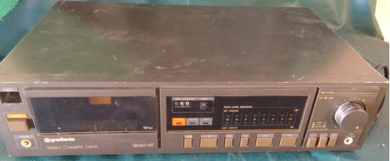 Tape Deck Gradiente Spect 65
